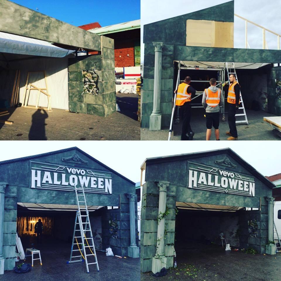 smith+jakes Haunted House Set - Progress