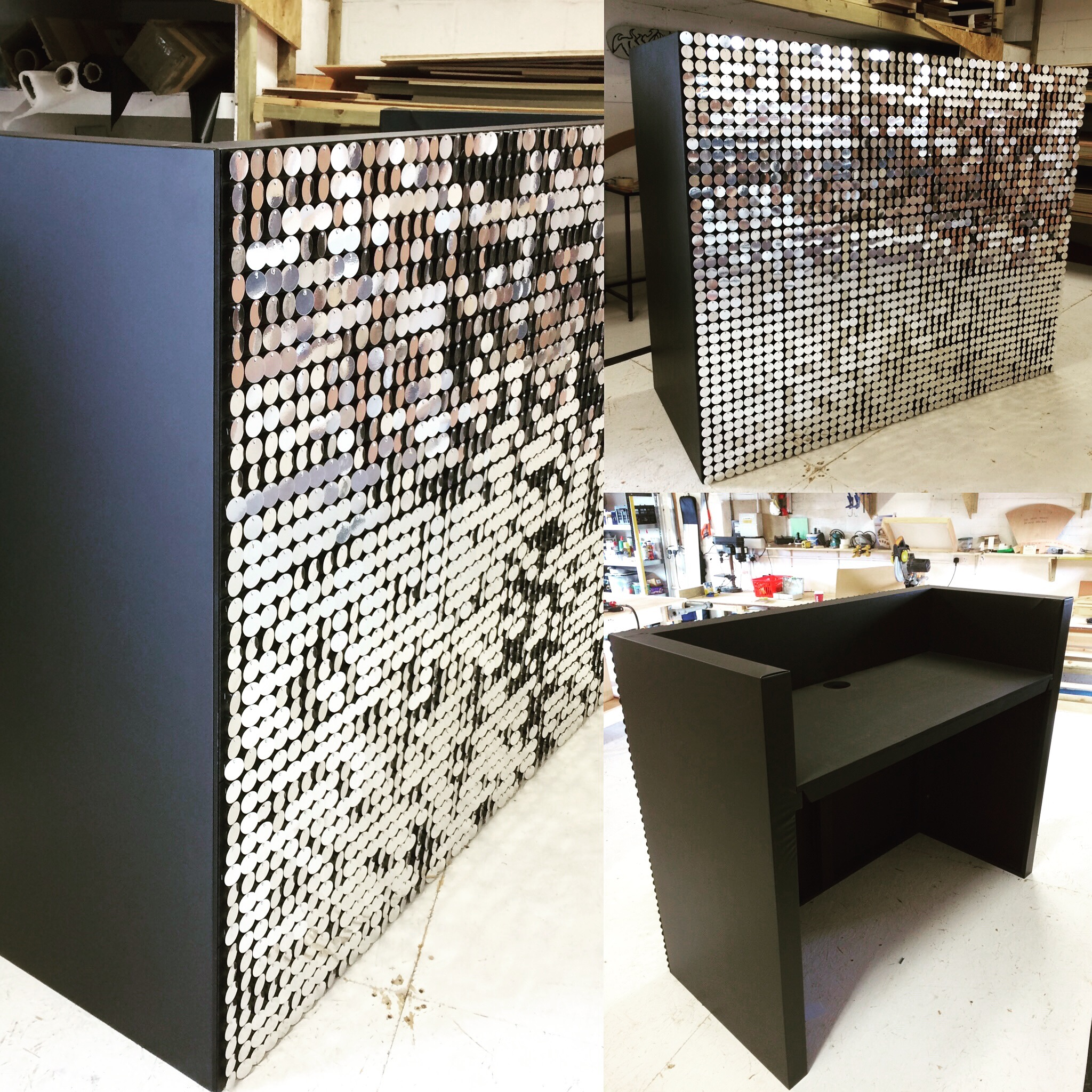 Shimmer Disc DJ Booth