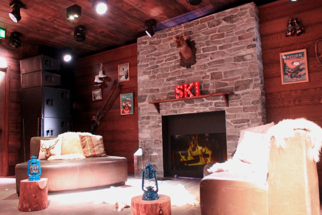 Ski Lodge Interior Set Build